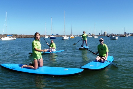 Stand Up Paddle Board Lesson PLUS 4 Hour Hire - St Kilda