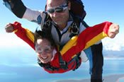 14000 ft Tandem Skydive over Sydney -
