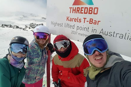 2 Day Snow Weekend Package to Thredbo -