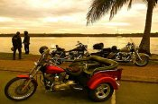 2 Hour Harley Davidson Noosa Twilight Trike Tour -