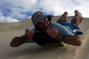 1 Day Moreton Island Snorkel and Sandboard Tour -