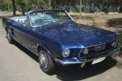 1967 Ford Mustang Car Hire -