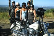 1 Hour Panorama Gold Coast Motorcyle Tour -