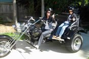 1 Hour Brisbane City Sights Motorcycle Tour -
