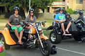 3 Hour Brisbane City Escape Motorcycle Tour -