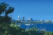 Perth City Swan River and Coastal Scenic Flight -