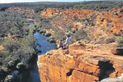 Kalbarri River Gorges and West Coast Scenic Flight -