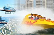 Gold Coast Jetboat and Helicopter Adventure -