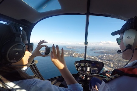 Sydney Harbour 15 Minute Scenic Helicopter Flight -