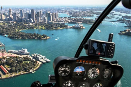 Sydney Harbour and Coastal 30 Minute Scenic Helicopter Flight -