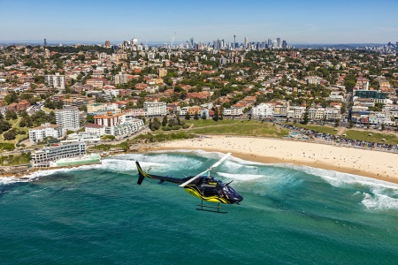 Sydney Northern Coastal Conquerer 45 Minute Scenic Helicopter Flight -