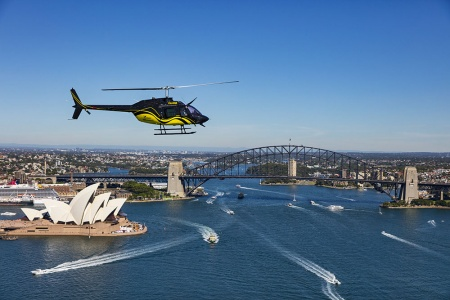 Sydney Harbour and Coastal 20 Minute Scenic Helicopter Flight -