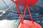 Sea Cliff Bridge Scenic Biplane Flight -