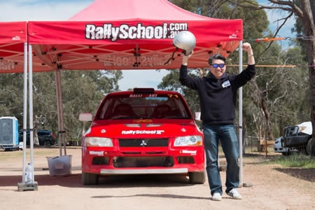 Rally Driving Hot Lap Ride - Off Road