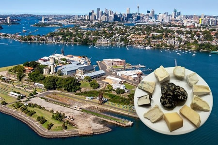 Australian Artisan Cheese & Wine Experience on Cockatoo Island -