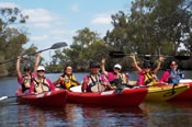 Swan River Canoe Tour with Wine Tasting -