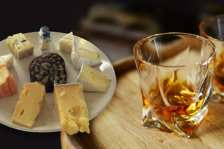 Single Malt Whiskey and Artisan Cheese Experience - Food & Beverage Tasting