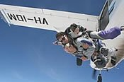 Tandem Skydiving over Euroa -