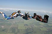 Accelerated Freefall Skydive Course -