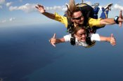 14,000ft Tandem Skydive over the Central Coast -