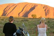 Kata Tjuta Sunset Motorcycle Tour - Motorcycle