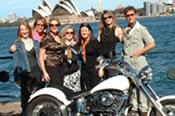 Sydney Sights Harley Ride -
