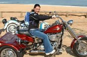 Bondi Beach Harley Ride -