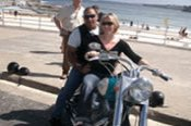 1.5 Hour Manly Run on a Harley Davidson -