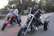 Harley Davidson Tours from Penrith including Lunch -