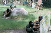 Outdoor Paintball Skirmish in the Hawkesbury Valley -