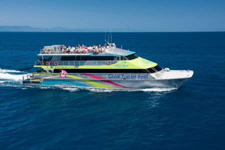 Green Island Full Day Reef Cruise on Big Cat - Sailing & Yacht Charter