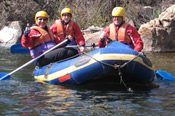 White Water Rafting on King River -