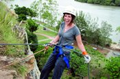 Abseiling the Kangaroo Point Cliffs -