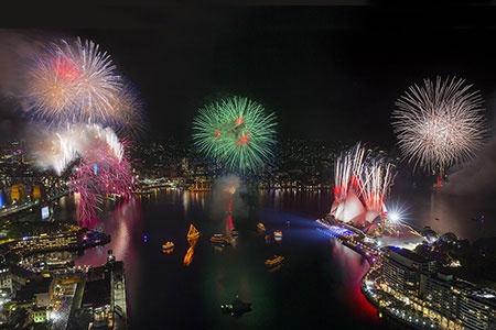 Sydney Harbour New Years Eve Mari Nawi Cruise -