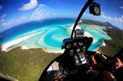 Whitehaven Beach Getaway Helicopter Flight -
