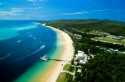 Tangalooma Dolphin Adventure Day Tour with 4WD Safari