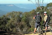 Blue Mountains Panoramic Mountain Bike Ride Private Tour -