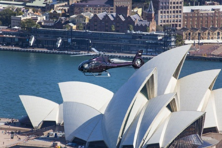 30 Minute Sydney Grand Scenic Helicopter Flight -