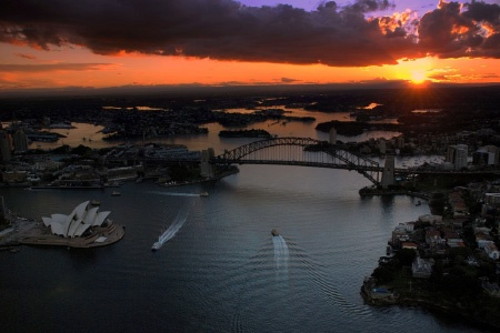 25 Minute Sydney Twilight Scenic Helicopter Flight