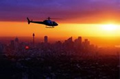 Twilight Helicopter Tour of Sydney -