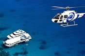 Moore Reef Helicopter Flight and Cruise Combo Tour -