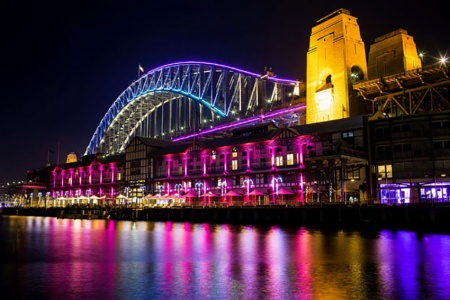 Vivid Sydney Harbour Cruise -