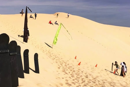 Tin City and Sandboarding 4WD Adventure -