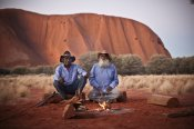Uluru Rising Sun and Sacred Walk Half Day Tour -