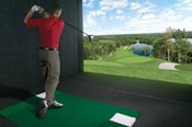 30 Minute PGA Lesson and 18 Holes on a Golf Simulator