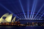 Vivid Sydney Twilight Dinner and Drinks Cruise -