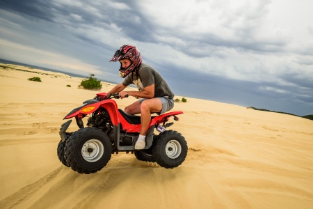 1.5 Hour Quad Bike Sand Pit Adventure - Off Road