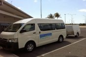 Clifton Beach Airport Shuttle Bus -