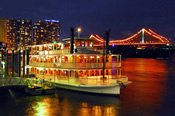 Brisbane River Cabaret Dinner Cruise on a Paddlewheeler -