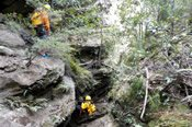 Juggler Canyon Winter Canyoning Adventure -
